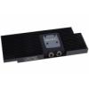 AlphaCool NexXxoS GPX - ATI R9 390 M02 - Backplate - Fekete