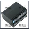 Sony NP-F970 7.2V 6600mAh utángyártott Lithium-Ion kamera/fényképezőgép akku/akkumulátor