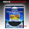 Hoya Pro1 Digital Cirkulár Polár 49mm szűrő