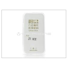 Samsung Samsung J110 Galaxy J1 Ace szilikon hátlap - Ultra Slim 0,3 mm - transparent tok és táska