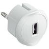 LEGRAND 050680 USB-s csatlakozódugó 1,5A - 5V (fehér)