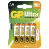 GP elem Ultra LR6 Mignon AA (ceruza elem) 4db/csom.