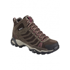 Columbia 1545481 Helvatia Mid Leather WP Utcai cipő D (YL5096-n_255-Mud)