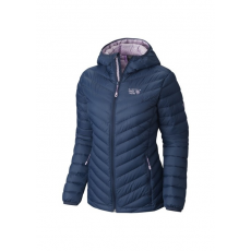 Mountain Hardwear Micro Ratio Hooded Down Jacket Túra kabát D (1560871-n_498-Zinc)