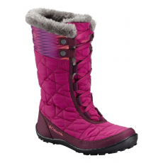 Columbia 1650241 Youth Minx Mid II WP OH Csizma,hótaposó D (BY1336-n_684-Sunset Red)