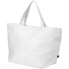 Maryville préselt bevásárlótáska, fehér (Maryville préselt bevásárlótáska, 80 g/m2 préselt)