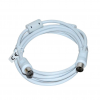 Vakoss Coaxial cable TV (antenna) M/F 2m TC-A744W white TC-A744W