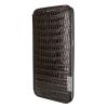 Piel Frama Samsung Galaxy S6 Edge Plus Framaslim eredeti gyíkbőr tok, barna