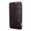 Piel Frama iPhone 6/6S Framaslim eredeti vad krokodilbőr tok, barna