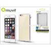 Apple Apple iPhone 6 Plus/6S Plus hátlap - Muvit Frame TPU - clear/silver