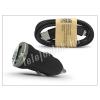 Univerzális Univerzális USB szivargyújtó töltő adapter + micro USB adatkábel - 5V/1A - fekete