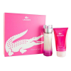 Lacoste Touch of Pink Set (90ml EDT + 150ml Testápoló) nõi
