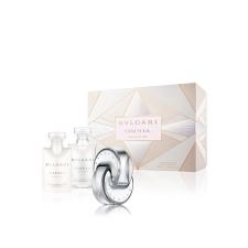 Bvlgari Omnia Crystalline Gift Set (EDT 40ml+ Testápoló 40ml+ Tusfürdõ 40ml) nõi kozmetikai ajándékcsomag