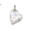Swarovszki köves szív medál
