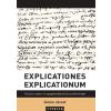 Typotex Kiadó Simon József: Explicationes explicationum - Filozófia, irodalom és egzegetika Enyedi György életművében