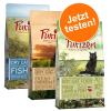Purizon Cat Purizon vegyes csomag 3 x 400 g - 3 x 2,5 kg: csirke & hal, bárány & hal és hal