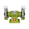 Extol Extol kettős köszörűgép 150W,száraz,125×12,7×16mm, 2950 ford/perc, P36, P80, 6kg