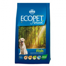 Ecopet NATURAL FISH MEDIUM 14KG kutyaeledel