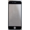 Apple iPhone 6 4.7 plexi ablak fekete*