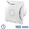 - Design ventilátor fehér XT (150 mm) időkapcsolós