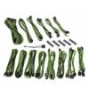 Bitfénix BitFenix Alchemy 2.0 PSU kábelkészlet, CMR széria - Fekete / Zöld