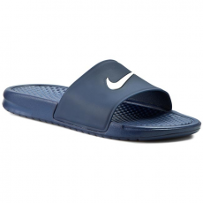 Nike Papucs NIKE - Benassi Shower Slide 819024 410 Midnight Navy/White