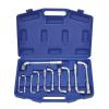 Kraftmann 11-részes L-profilú speciális kulcs készlet    6-22 mm