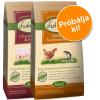 Lukullus Adult vegyes próbacsomag 2 x 1,5 kg - Charolais marha & pisztráng + csirke & norvég lazac