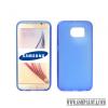 CELLECT Samsung Galaxy S7 Edge vékony szilikon hátlap, kék