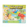 Kid's Toys Dinoszauruszos gyurmakészlet, 13 darabos