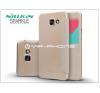 Samsung Samsung A710F Galaxy A7 (2016) oldalra nyíló flipes tok - Nillkin Sparkle - golden tok és táska