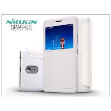 Lenovo Lenovo Vibe P1m oldalra nyíló flipes tok - Nillkin Sparkle - fehér tok és táska