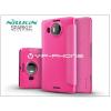 Microsoft Microsoft Lumia 950 XL oldalra nyíló flipes tok - Nillkin Sparkle - pink