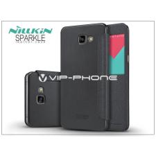 Samsung Samsung A900 Galaxy A9 (2016) oldalra nyíló flipes tok - Nillkin Sparkle - fekete tok és táska