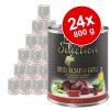 Zooplus Selection 24 x 800 g - Adult Active csirke
