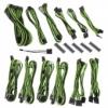 Bitfénix BitFenix Alchemy 2.0 PSU kábelkészlet, BQT széria DPP - fekete/zöld