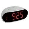 TFA Digitális rádiójel vezérelt ébresztőóra, szundi funkcióval. 60.2505