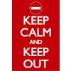 Keep Calm poszter