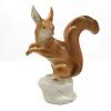 Gigantikus Royal Dux porcelán mókus