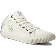Pepe Jeans Tornacipő PEPE JEANS - Industry PMS30246 Off White 803