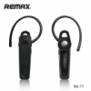 Remax RB-T7 bluetooth-os headset fekete*