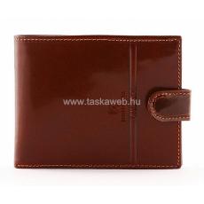 Valentini férfi patentos bőr pénztárca 563298
