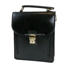 ABSOLUTE Leather Álló fekete kis bőr férfitáska SK1116