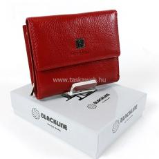 BLACKLINE kis méretű,két oldalas piros női pénz és irattartó tárca W8130-5