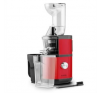 Klarstein Fruitberry, piros, lassú gyümölcsprés, 400 W, 60 fordulat/perc, Ø 8,5 cm-es töltőcső, nemesacél gyümölcsprés és centrifuga