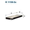 Filtron K1158-2x Filtron pollenszűrő