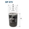 Filtron OP675 Filron olajszűrő