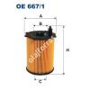 Filtron OE667/1 Filron olajszűrő