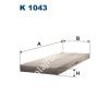 Filtron K1043 Filtron pollenszűrő