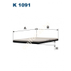 Filtron K1091 Filtron pollenszűrő
